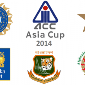 Asia Cup 2014. Points Table