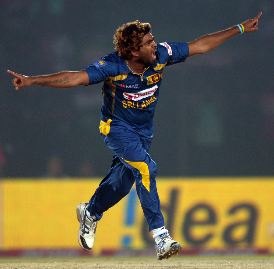 Lasith Malinga In Asia Cup 2014 First Match