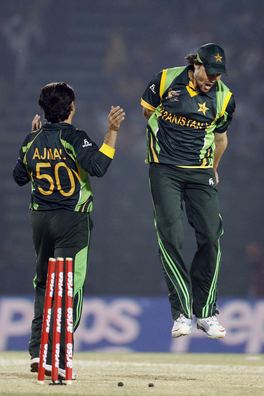Saeed Ajmal And Mohammad Hafeez Bowling Creates Pakistan a 72 Runs With A Bonus Point Victory Against Afghanistan in the 3rd Match Of Asia Cup 2014