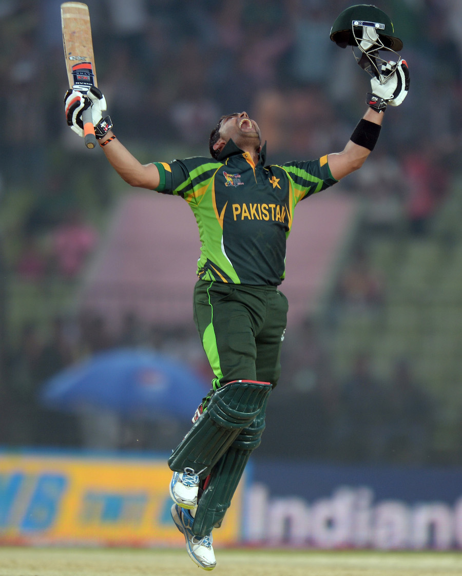 Umar Akmal's Century Helps Pakistan To Set A Target of 249 for Afghanistan in 3rd Match of Asia Cup Cricket 2014