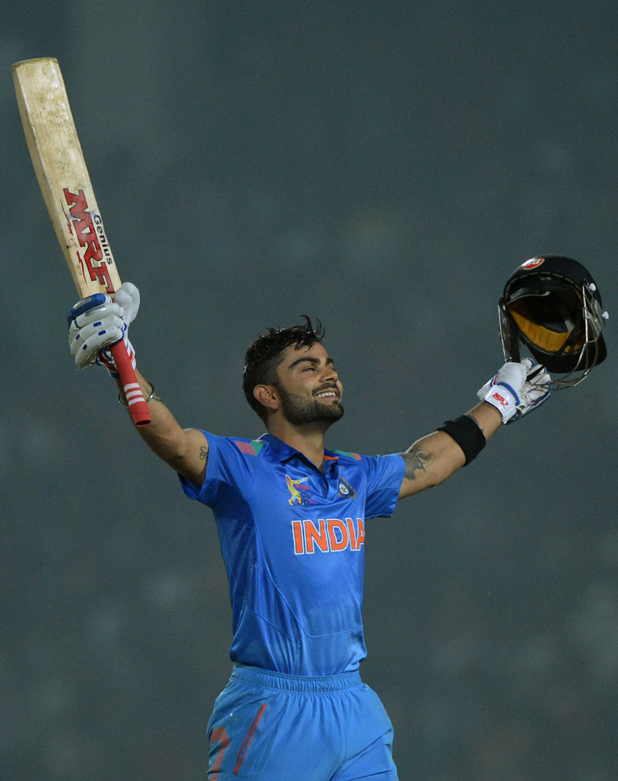 Virat Kohli's 19th ODI Century Gives India A 6 Wicket Victory Against Bangladesh (BAN) in Asia Cup 2014 Match 2