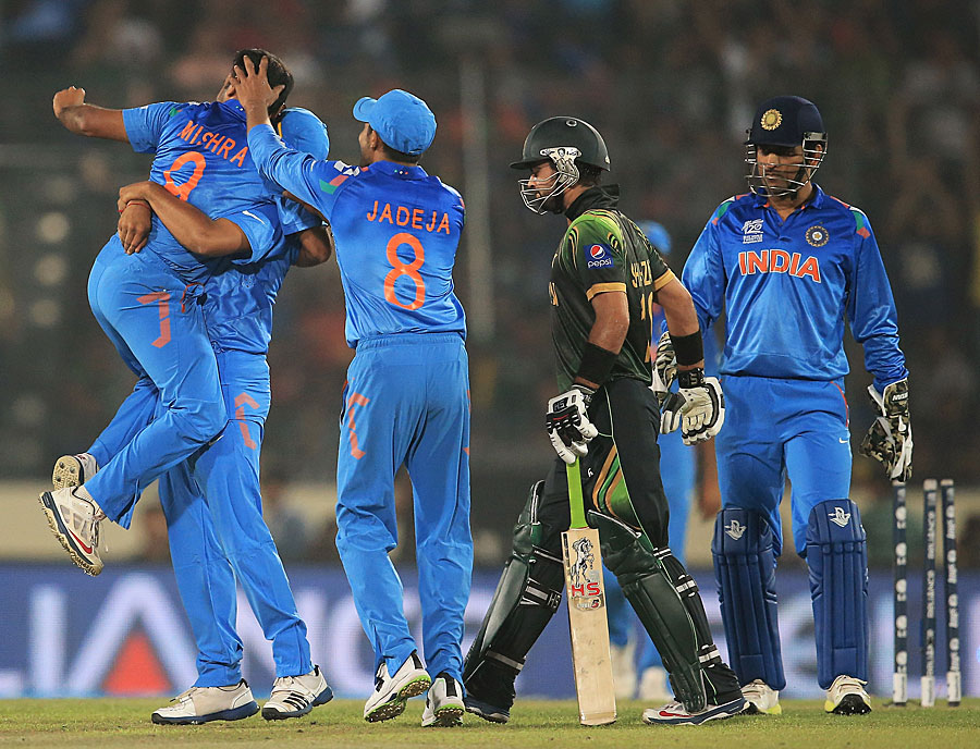 Amit Mishra (Player Of The Match) - After Getting Ahmad Shahzad's Wicket