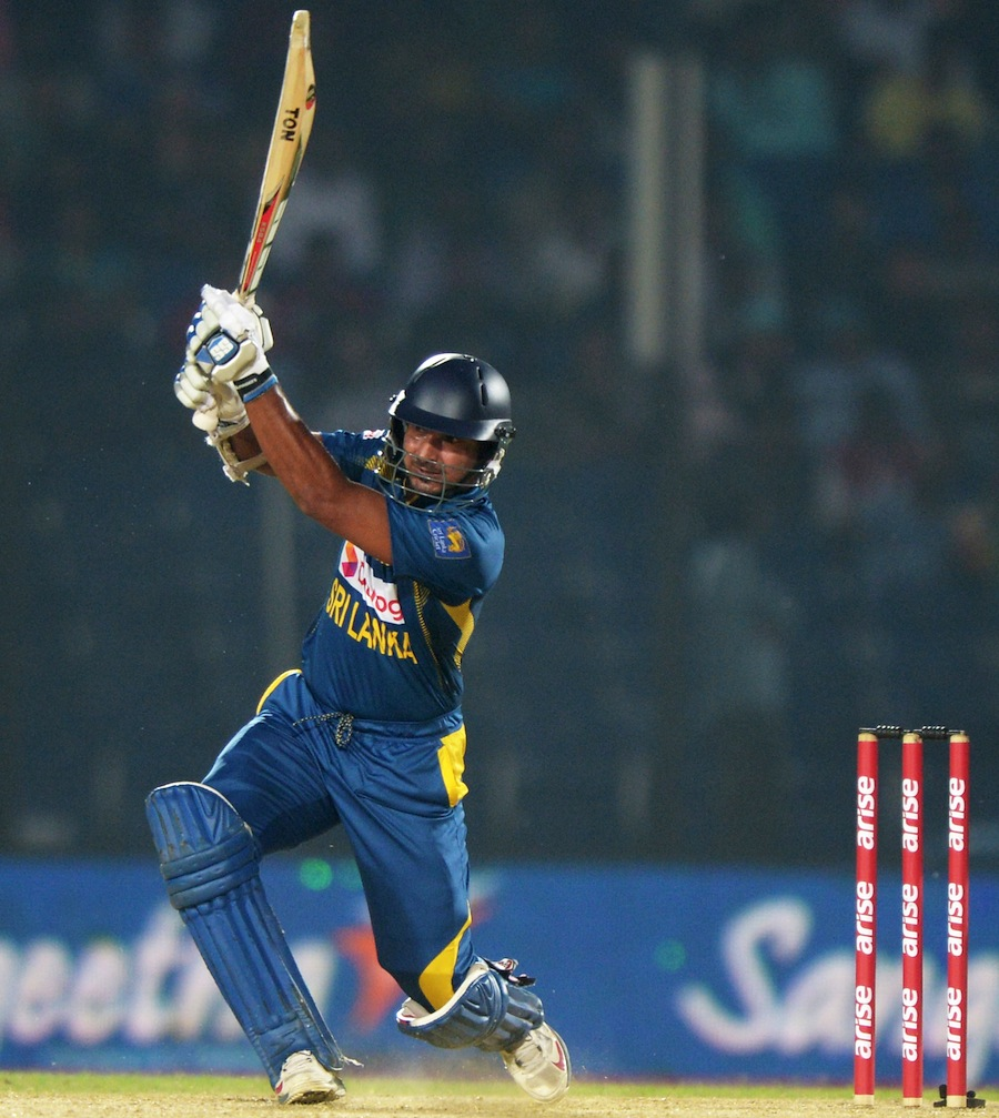 Kumar sangakkara Quick Century Gives Sri Lanka Victory in 4th Match Of Asia Cup One Day International Cricket 2014