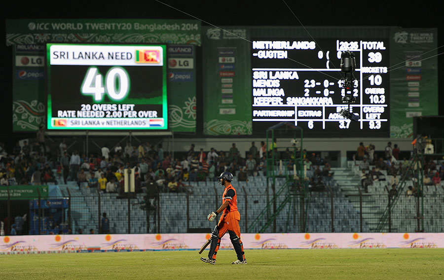 Netherlands - Lowest T20 Score In International Cricket