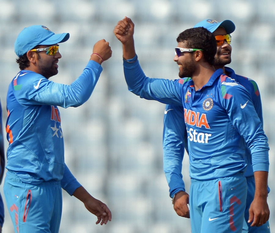 Ravindra Jadeja (IND) - Man of The Match On 9th Match Of Asia Cup ODI Cricket 2014