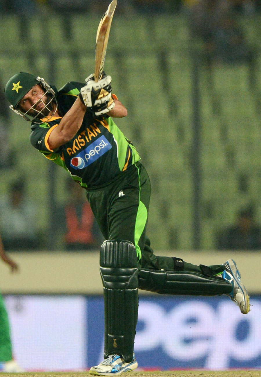 Shahid Afridi - Man Of The Match For His Half Century In Just 18 Balls - 8th Match Asia Cup ODI Cricket 2014