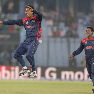 Shakti Gauchan Picked Up 2 Wickets In An Over