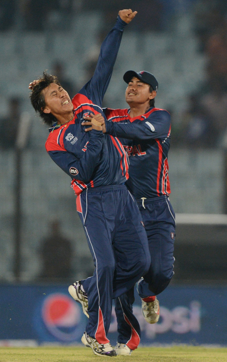 Shakti Gauchan - Player Of The Match On 2nd Match Of ICC T20 World Cup 2014