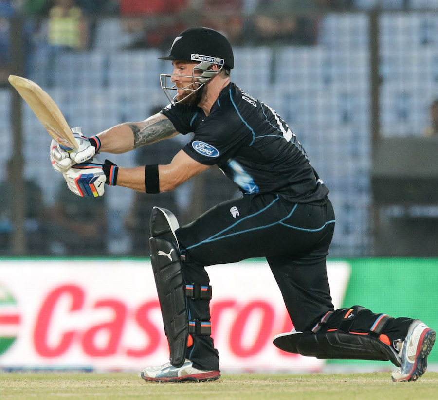 Brendon McCullum (New Zealand) - Player Of The Match