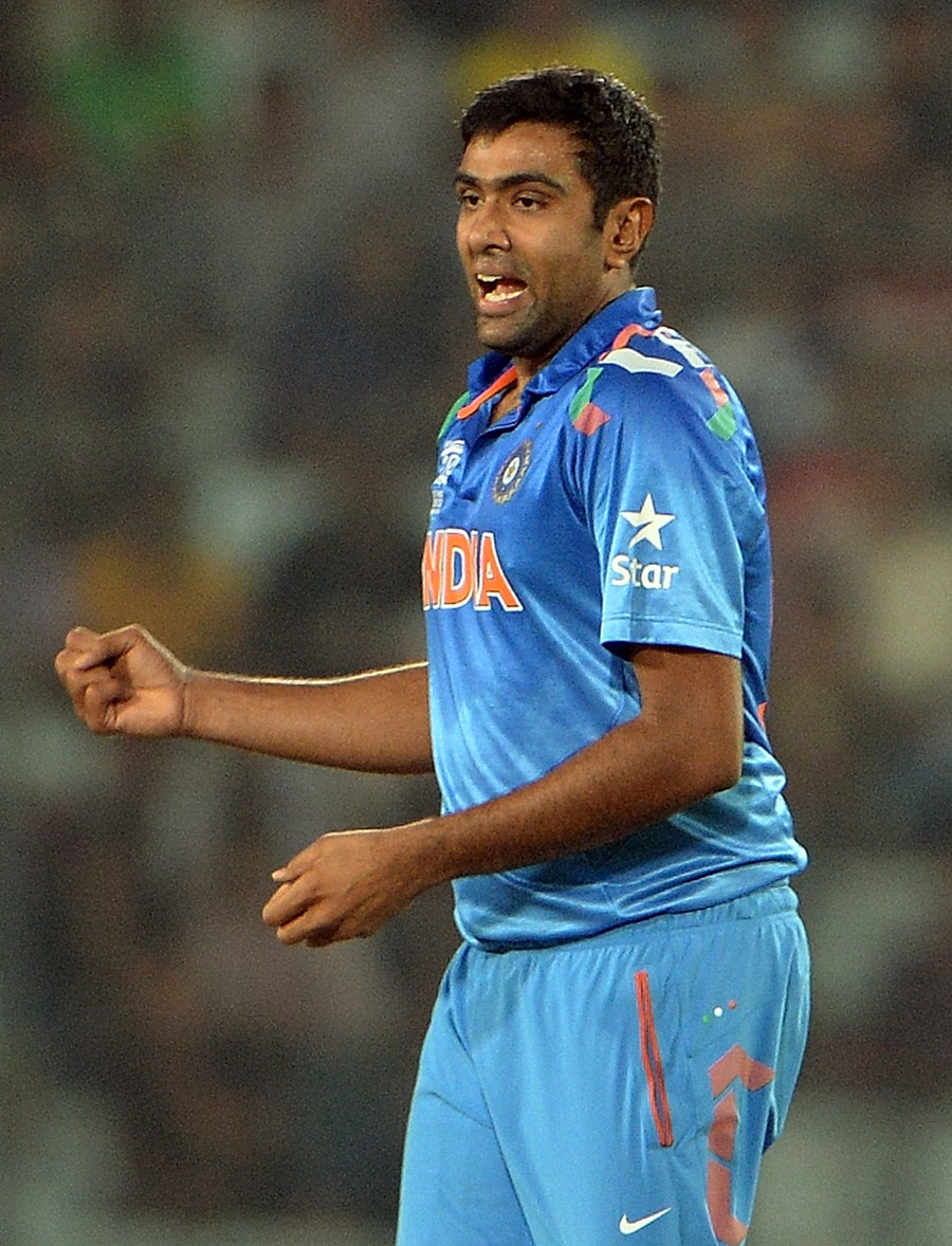 R Ashwin (India) - Player Of The Match : 4 Wickets For 11 Runs