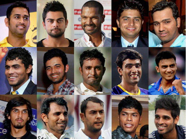 Icc Cricket World Cup 2015 All Players Photo