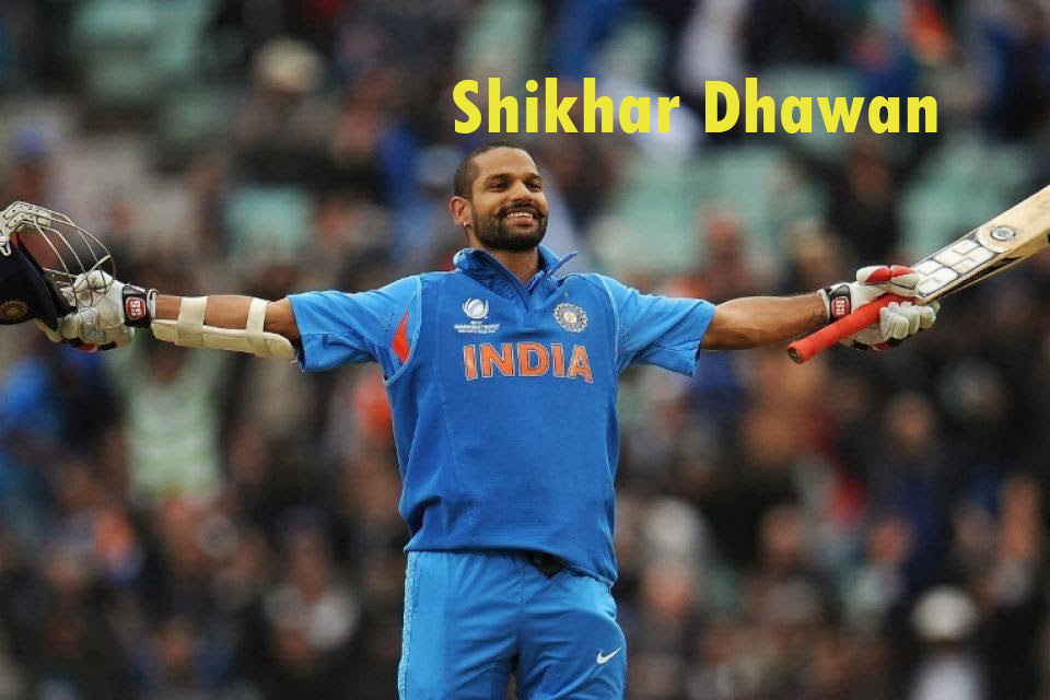 Shikhar Dhawan In World Cup 2015