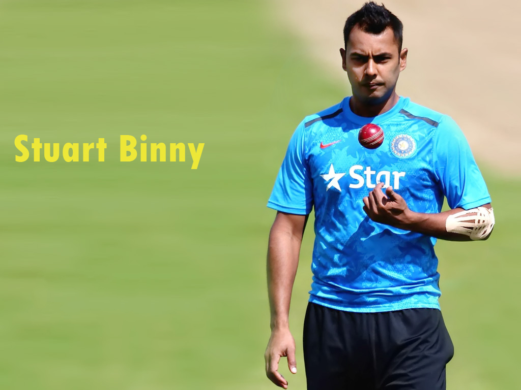 Stuart Binny In World Cup 2015