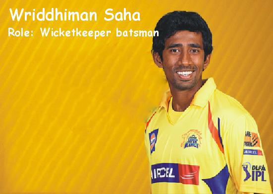 Wriddhiman Saha In World Cup 2015